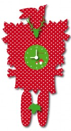 Erdbeer Uhr